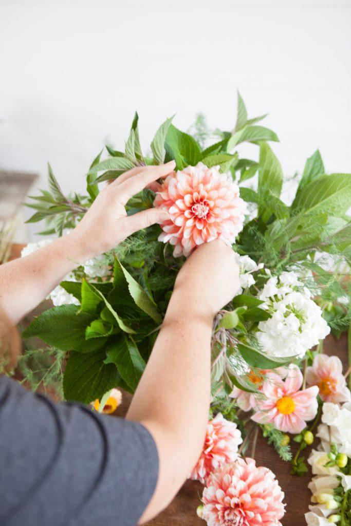 Flower Workshop at Christianson's Nursery